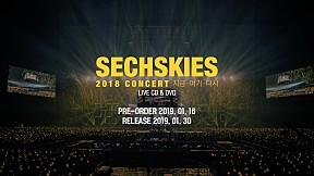 SECHSKIES - 2018 CONCERT [지금・여기・다시] DVD