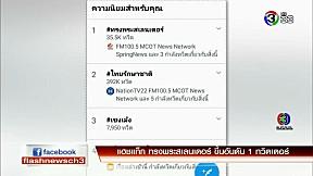 แฮชแท็ก ทรงพระสเลนเดอร์ ขึ้นอันดับ 1 ทวิตเตอร์ | FlashNews | 08-02-62 | Ch3Thailand