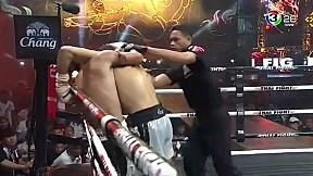 Thai Fight เมืองคอน | ป.ต.ท. พี.เค.แสนชัยมวยไทยยิม VS Luca Lombardo
