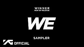 WINNER – 'WE' SAMPLER