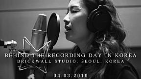 Behind the Recording Scene @ Seoul, Korea - กบ เสาวนิตย์