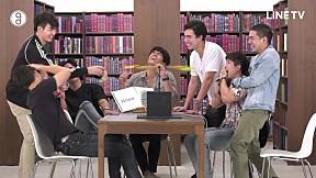 Silent Library ห้องสมุด เงียบสงัด   EP.14 ดูมันดิ TV   เกมพัดลมเปลือกกล้วย