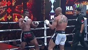Thai Fight คำชะโนด 2019 | ชนะจน พี.เค.แสนชัยพวยไทยยิม ปะทะ Thiago Teixeira