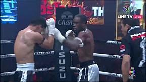 Thai Fight คำชะโนด 2019   เดชฤทธิ์ เสถียรมวยไทย ปะทะ Nayanesh Ayman