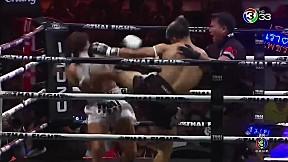 Thai Fight แม่สอด 2019 | เพชรสมุย ลูกเจ้าพ่อโรงต้ม ปะทะ Hicham Boulahri
