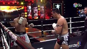 Thai Fight แม่สอด 2019 | เต็งหนึ่ง ศิษย์เจ๊สายรุ้ง ปะทะ Shahram Delavar