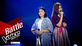 ปังปอนด์ VS จูน - ก่อนฤดูฝน   รอบ Battle   The Voice 2019 9 ธ.ค. 2562