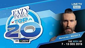 EAZY TOP 20 Weekly Update | 15-12-2019