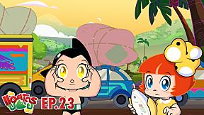 Go Astro boy Go! | EP.23 ตอน ทำไมช้างถึงข้ามถนนล่ะ