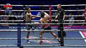 6 ก.พ. 63 | คู่ที่ 5 | ผาดำ BCK ยิม VS สิงห์พยัคฆ์ ส. บุญมาก l The Global Fight Champion Challenge