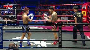 23 ก.พ. 63 | คู่ที่ 5 | มณเฑียร ศิษย์มนต์ชัย (TH) VS IBANK CHOKDEEGYM (LA) | MAX MUAY THAI