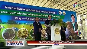 มาตรการช่วยเหลือเกษตรกรชาวสวนส้ม | FlashNews | 29-02-63 | Ch3Thailand