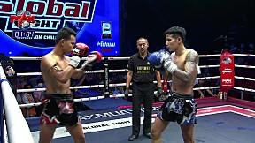 27 ก.พ. 63   คู่ที่ 4   มูเซอดำ ส.จ. จูดี้ยโสธร VS เพชร ศิษย์มนต์ชัย   The Global Fight Champion challenge