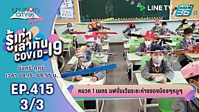 บางกอก City เลขที่ 36 | อัปเดตสถานการณ์โควิด-19 ในไทยและต่างประเทศ | 28 เม.ย. 63 (3\/3)