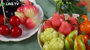 แจกสูตร \'ลูกชุบ\' เมนูขนมหวานไทย สุดน่ารัก สีสันสวยงาม หอม หวาน มัน กลมกล่อม!