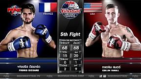 9 ก.ค. 63 | คู่ที่ 5 | ฟรอริส ดิสซาร์ด (ฝรั่งเศส) VS คลอลิน สมอร์ (อเมริกา) | THE GLOBAL FIGHT CHAMPION CHALLENGE