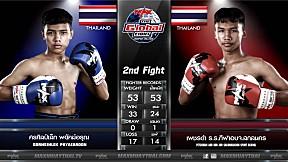 16 ก ค  63 | คู่ที่ 2 | ศรศิลป์เล็ก พยัคฆ์อรุณ VS เพชรดำ ร.ร. กีฬา อบจ. สกลนคร | The Global Fight Champion Challenge