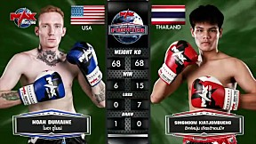 MUAY THAI FIGHTER | USA VS THAI