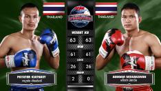 27 ก.ค. 63 | คู่ที่ 3 | พญาต่อ เกียรตินาวี VS แอ็ดดำ มิสกวัน | Muay Thai Fighter