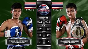 3 ส.ค. 63 | คู่ที่ 4 | เพชรแท้ ส.ส. ต้อยแปดริ้ว VS ชฎาเพชร ทรัพย์ปรีดา | Muay Thai Fighter