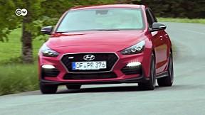 The sporty Hyundai i30 Fastback N