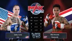 9 ส.ค. 63 | คู่ที่ 4 [ROMANIA VS THAILAND] ALEXANDRU BUBLEA VS สิงโต ว.วัฒนะ | MAX MUAY THAI
