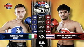 FIGHT 4 [ ITALY VS THAILAND ] SAMJEE PETCHBANNA (THAILAND) VS RUBEN LAPIRA (ITALY) [MAX MUAY THAI] 22-08-2020