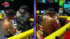 ขุนเข่าเมืองช้าง VS แรมโบ้เมืองสองแคว The Champion Muay Thai เดอะ แชมป์เปี้ยน มวยไทยตัดเชือก {29-08-2020}