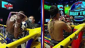 สุดเถื่อน เลือดพล่าน!!! [FIGHT 5] The Champion Muay Thai เดอะ แชมป์เปี้ยน มวยไทยตัดเชือก