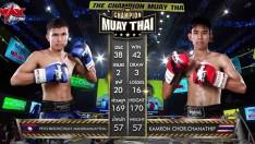 [THAILAND VS LAOS] KAMRON CHOR.CHANATHIP VS PETCHBOONCHUAY MANLIKAMUAYTHAI [12/09/2020]