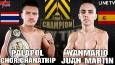 [THAILAND VS SPAIN] PALAPOL CHOR.CHANATHIP VS WANMARIO JUAN MARTIN