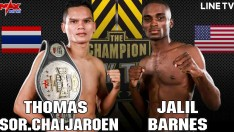 USA VS THAILAND [THOMAS SOR.CHAIJAROEN VS JALIL BARNES]