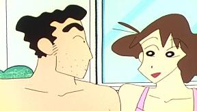 ชินจังจอมแก่น | EP.322 ตอน วันที่อากาศร้อนต้องสระน้ำ