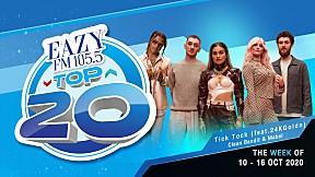 EAZY TOP 20 Weekly Update | 18-10-2020