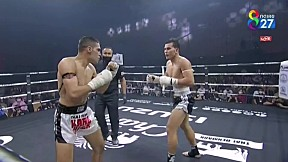 THAI FIGHT BEGINS | แสนสะท้าน พี.เค. แสนชัยมวยไทยยิม vs MOHAMMADHOSEIN DOROUDIAN