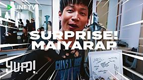 เซอร์ไพรส์วันเกิด MAIYARAP ที่งาน GMM Online Festival   YUPP!