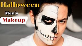 Halloween Men\'s Makeup #บิวตงบิวตี้