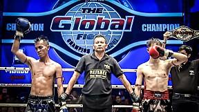 คู่ที่ 1 _ เพชรป่าซาง อ.สนิทพันธุ์ vs ชายกลาง ศ.สมบัติ (ลาว) _ THE GLOBAL FIGHT 12 พ.ย. 63