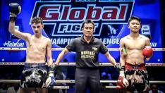 คู่ที่ 2 แฮมซ่า ดาอูดิ (เบลเยี่ยม) vs จ้าวซัน ส.เฮงเจริญ _ THE GLOBAL FIGHT 12 พ.ย. 63