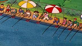 ชินจังจอมแก่น | EP.449 ตอน บ่อตกปลาแสนวุ่นวาย