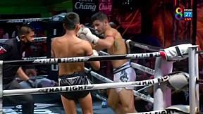 THAI FIGHT น่าน | ก้องไกล เอ็นนี่มวยไทย vs SAJAD SATTARI