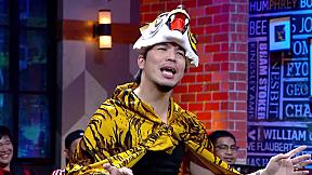 LINE TV BEST COMEDY SCENE | HOLLYWOOD GAME NIGHT THAILAND SEASON3 : ฉาก12345 ธรณีกรรแสง | LINE TV AWARDS 2021