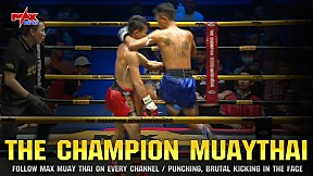 Myanmar vs Thailand ใครโหดกว่ากัน??? I The Champion Muay Thai