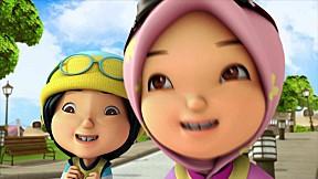 BoBoiBoy Series Season 1 | EP.12 [Getting A Little Windy In Here : มาลองพายุเล็กๆ กัน]
