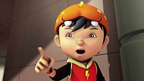 BoBoiBoy Series Season 3 | EP.8 [The Arrival of the Five Sly Scammers : นักต้มตุ๋นจอมเจ้าเล่ห์ทั้ง 5 ]