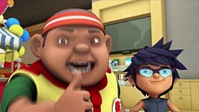 BoBoiBoy Series Season 3 | EP.7 [Rob, Robert and Roberto Santana\'s Robbery : การปล้นของร้อบ, โรเบิร์ต และ โรเบอโต้ ]
