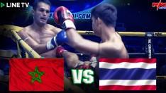 ไทย ปะทะ ต่างชาติ MOROCCO VS THAILAND ที่สุดของมวยไทย