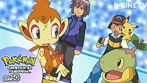 Pokémon: Diamond and Pearl | EP.50 ตอน ฮิโกซารุปะทะแซงกูส !  แบตเทิลแห่งโชตชะตา !