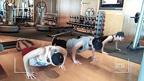 [A-JAX Fun TV] Hyeong Kon\'s 2nd Workout class
