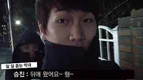 [A-JAX Fun TV] Sungmin and Seung Jin\'s on the way home